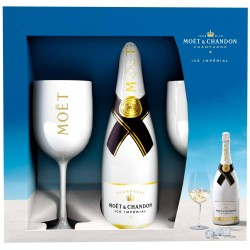 MOET ICE WITH 2 GLASSES Champagne