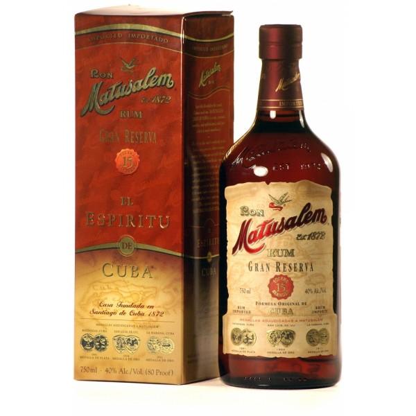 MATUSALEM GRAN RESERVA 15 Y.O Rum