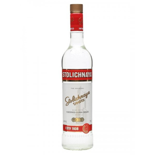 STOLICHNAYA 40% VOL Vodka