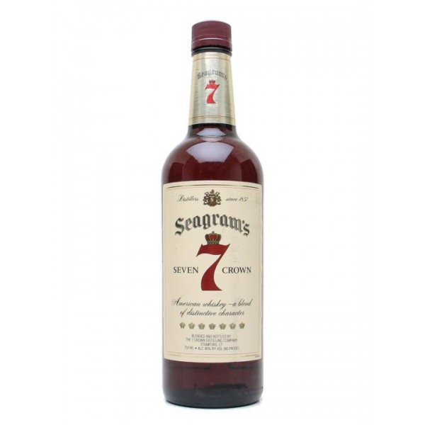 SEAGRAMS SEVEN CROWN 1LITRE Whisky
