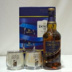 DEWAR'S 12 Y.O. (ME 2 ΠΟΤΗΡΙΑ) Whisky
