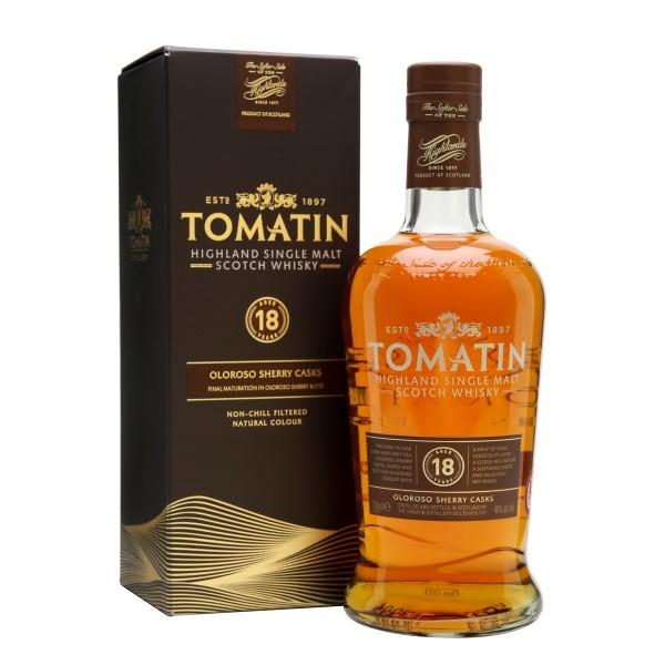 TOMATIN 18 Y.O Whisky