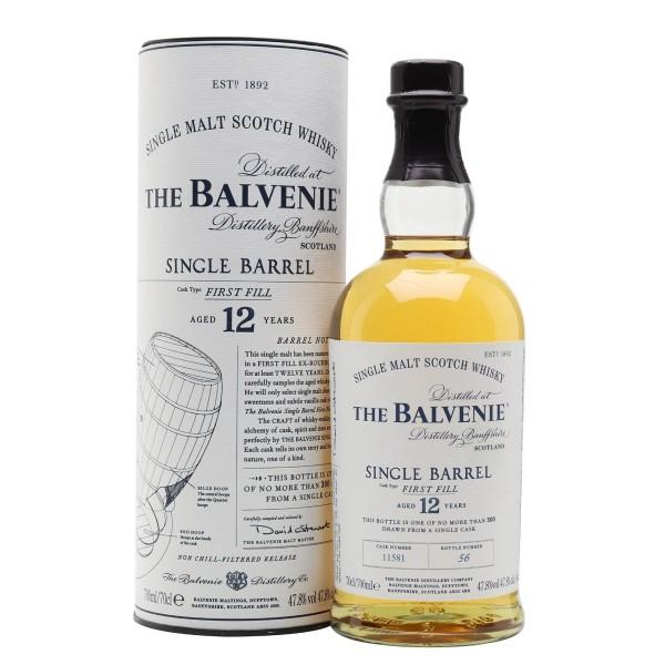 BALVENIE 12Y.O. SINGLE BARREL Whisky