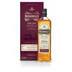 BUSHMILLS PORT CASK STEAMSHIP Whisky