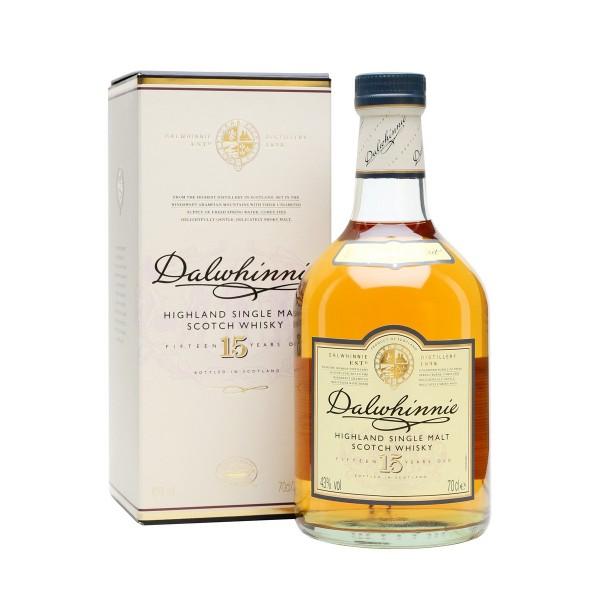 DALWINIE 15 Y.O. Whisky