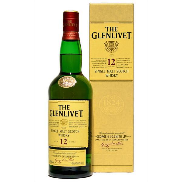 THE GLENLIVET 12 Y.O. Whisky