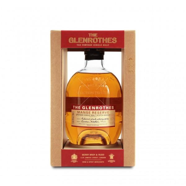 THE GLENROTHES MANSE RESERVE Whisky