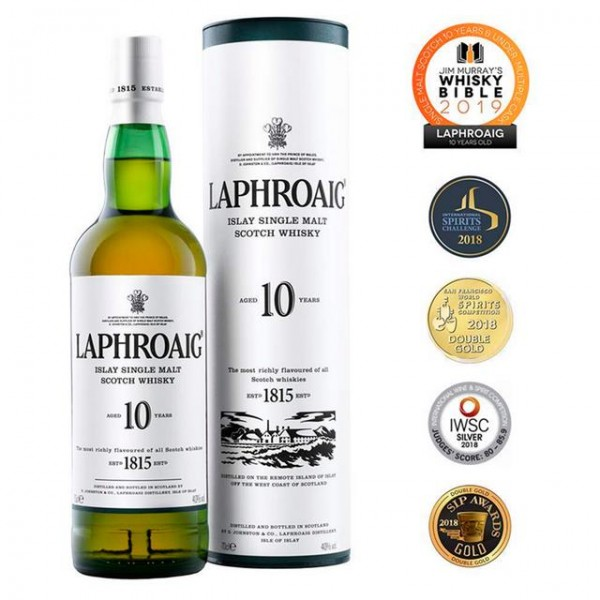 LAPHROAIG 10 Y.O. Whisky
